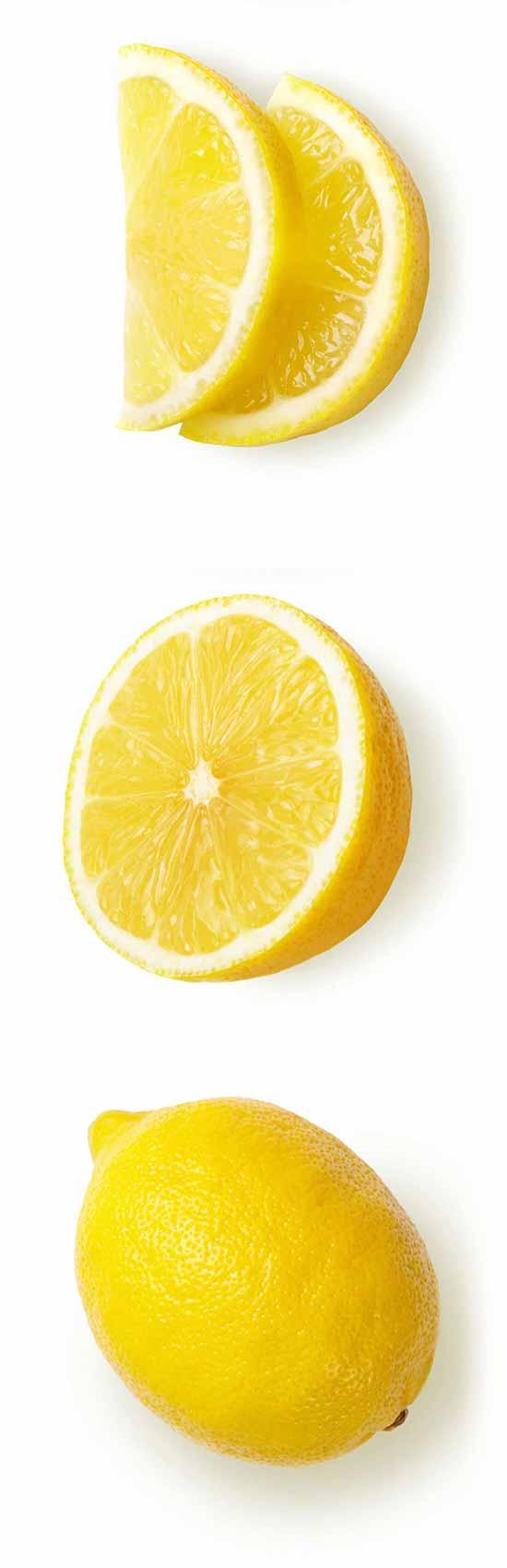 citron biologiques pour sorbet