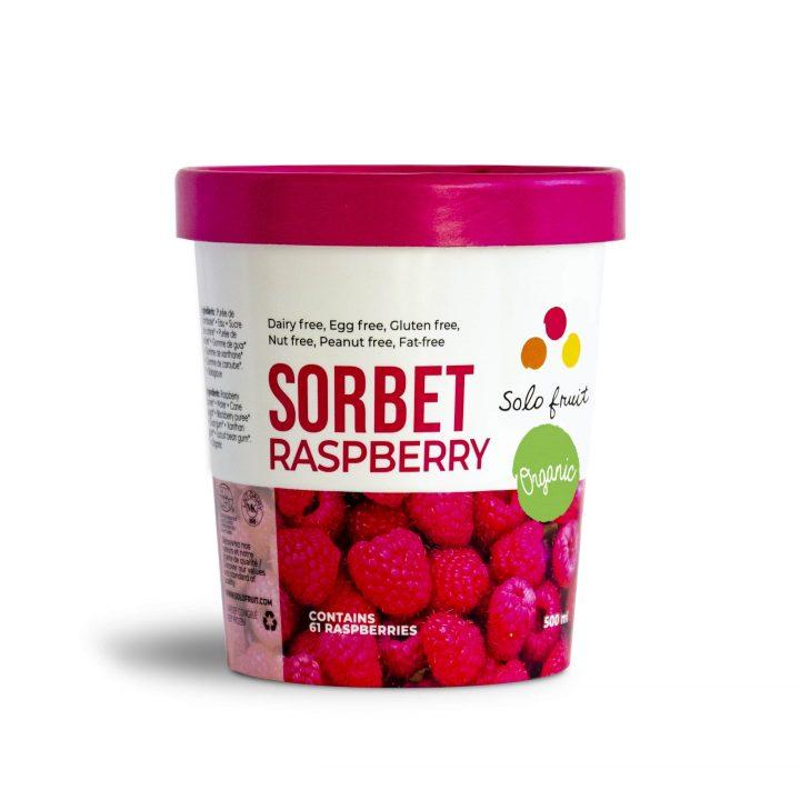 Organic Raspberry Sorbet