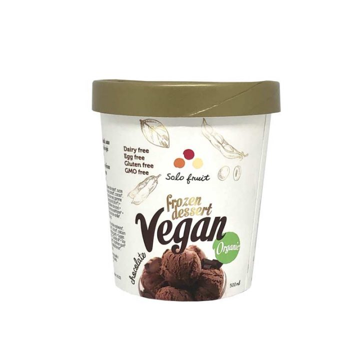 Chocolate Vegan Frozen Dessert